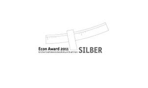 Econ Award Unternehmenskommunikation Berlin Silberpreis Integrierte Unternehmenskommunikation 2011
