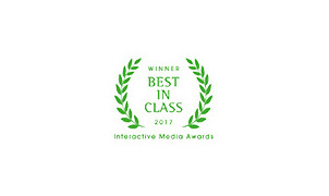 Interactive Media Awards New York Winner Outstanding Achievement 2013 Best in Class 2017