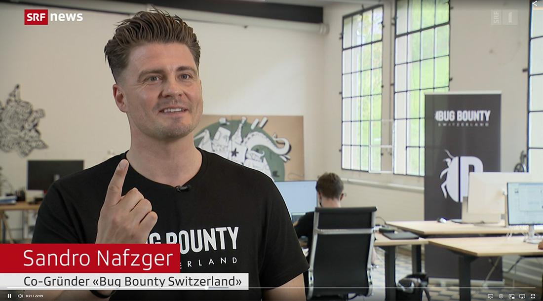Bug Bounty Switzerland SRF Tagesschau