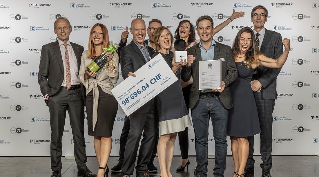 Preisverleihung ZKB Pionierpreis Technopark 2021